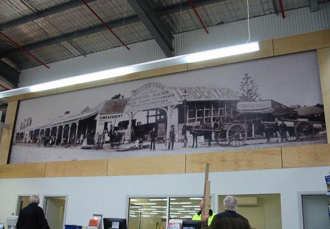 Large format digital printing for Digital mural printing